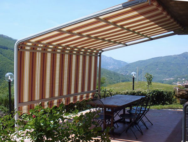 Tenda giardino stasi tendaggi - Tende da sole per giardino ...